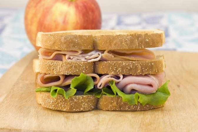 How Many Calories in a Triple-decker Turkey Club Sandwich?