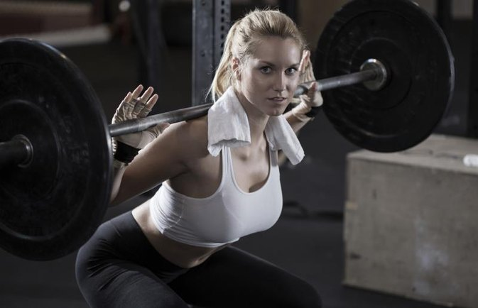 Free Female Weight Lifting Workout Routine