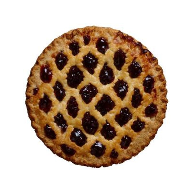 Calories in a Slice of Blueberry Pie
