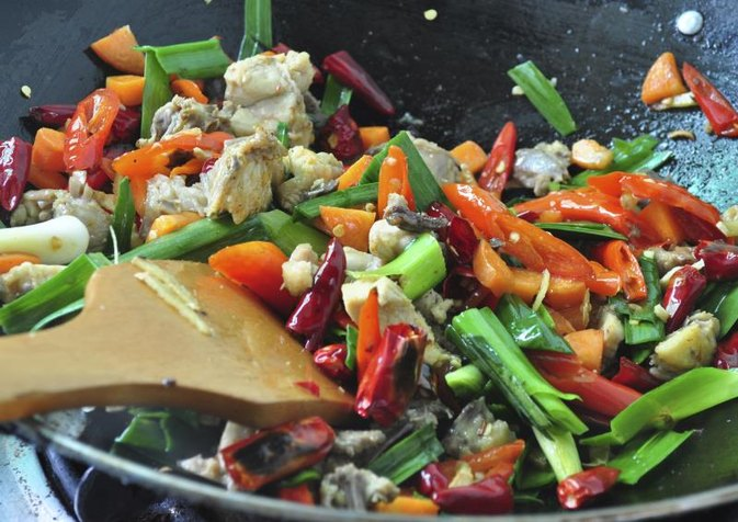 Chicken Stir-Fry Calories