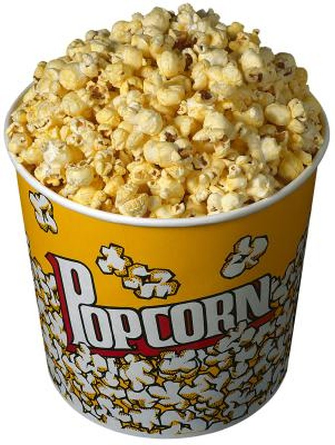 The Calories in a Bucket of Popcorn