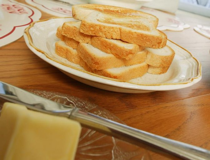 Nutritional Value of Buttered Toast