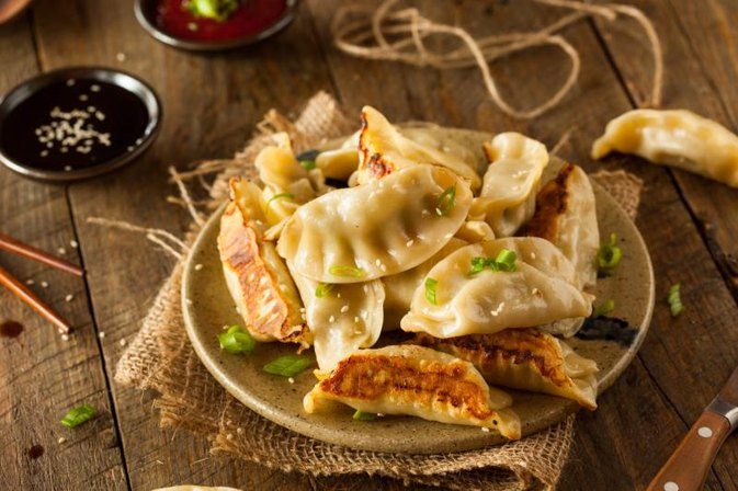 Calories in Vegetable Gyoza