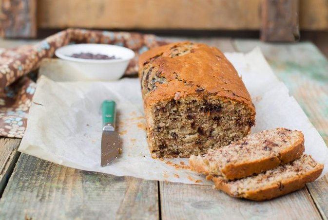 Calories in Banana Bread With Chocolate Chips