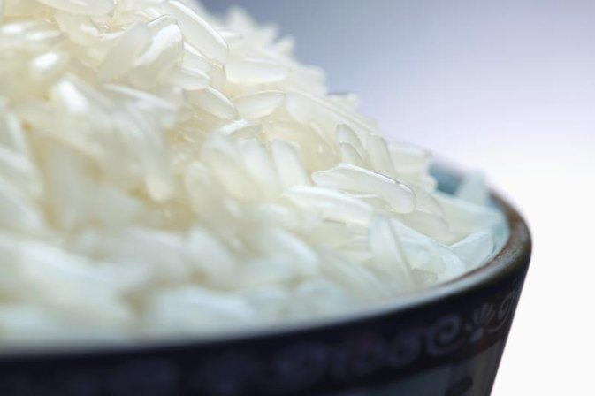 Steamed Rice for Bodybuilding