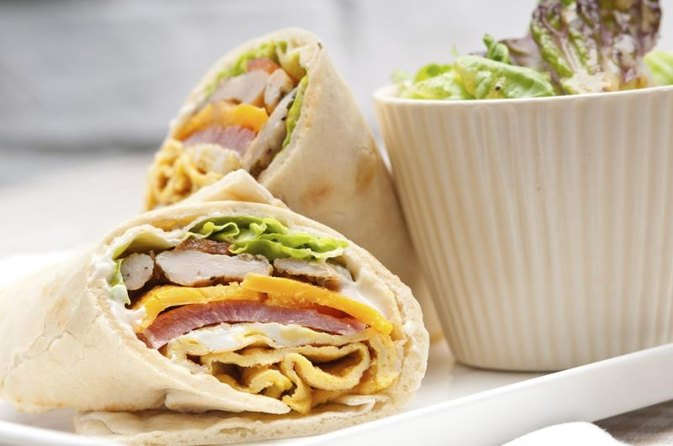 Turkey Avocado Wrap Calories