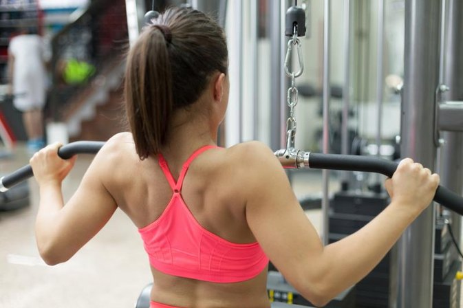 Lifting Weights & Reduced Breast Size