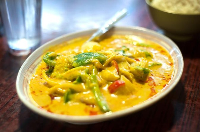 Calories in Thai Vegetable Curry