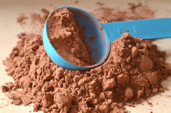 How to Take Whey Protein to Get Bigger Arms