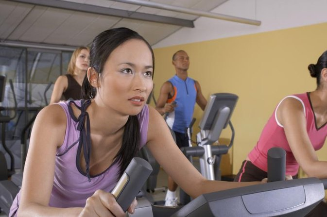 How to Work Out Harder on the Cross Trainer