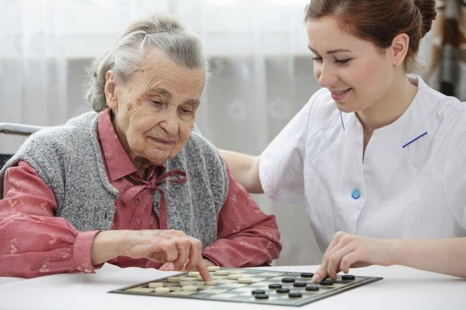 Activities for Elderly, Immobile Patients