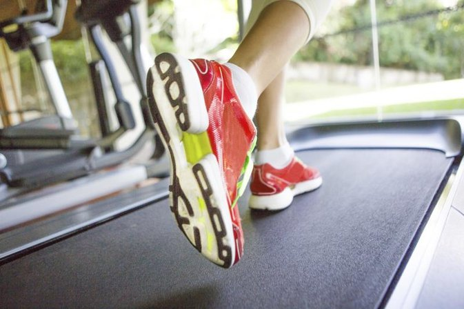 Treadmill Exercise Leading to Ankle Pain
