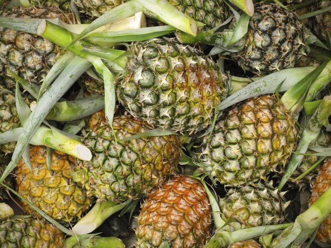 Nutrition of a Whole Pineapple
