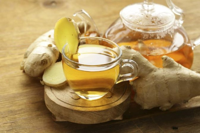 Ginger Tea to Relieve Constipation