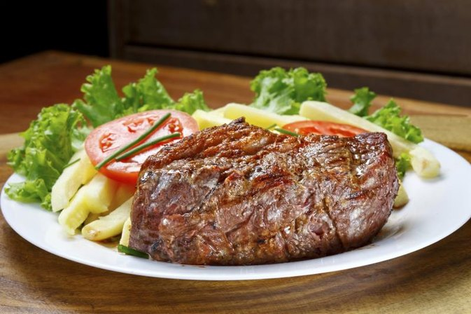 Calories in Steak & Lube Food