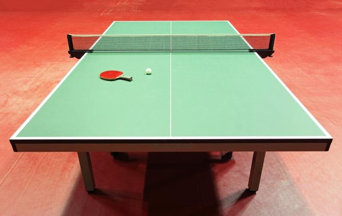 how to clean a ping pong table livestrong com. Black Bedroom Furniture Sets. Home Design Ideas