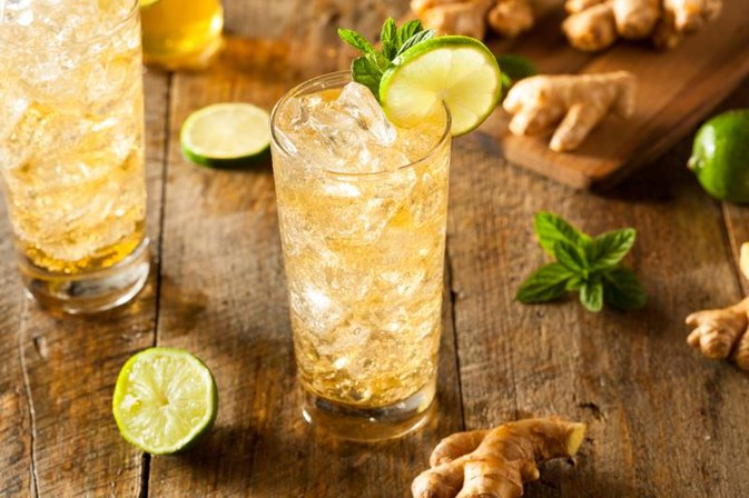 How to Make a Ginger Drink