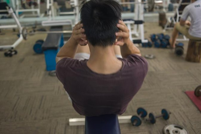 Neck Muscle Pain After Crunches