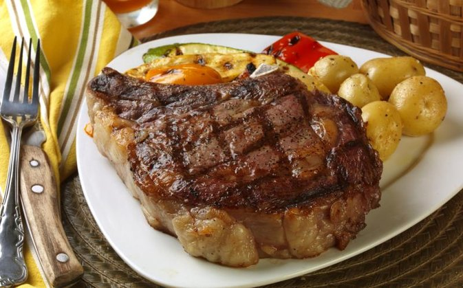 Calories in an 8-Ounce Ribeye Steak