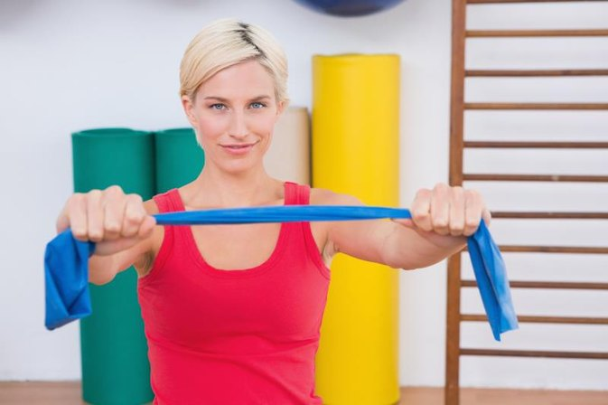 How to Lose Weight With Resistance Bands