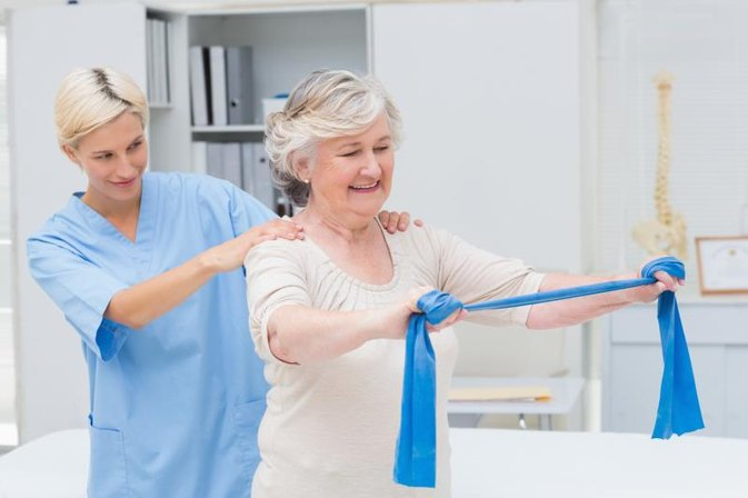 Occupational Therapy & Shoulder Rotator Cuff Exercises