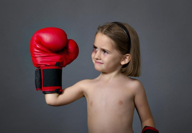 Kickboxing for Young Girls