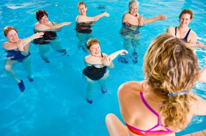 Aquacise Exercises Livestrong Com