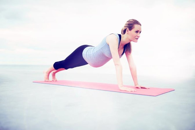 Doing Pushups When Pregnant