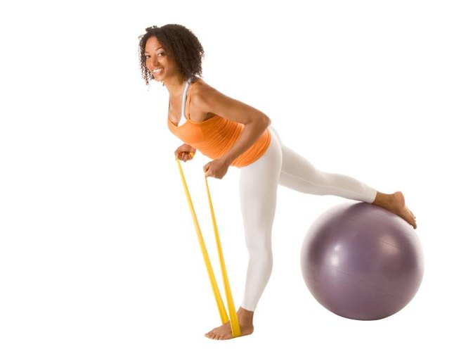 How to Have a Rounder Butt Using Resistance Bands