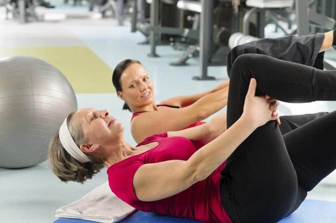 Stomach Exercises for Senior Women
