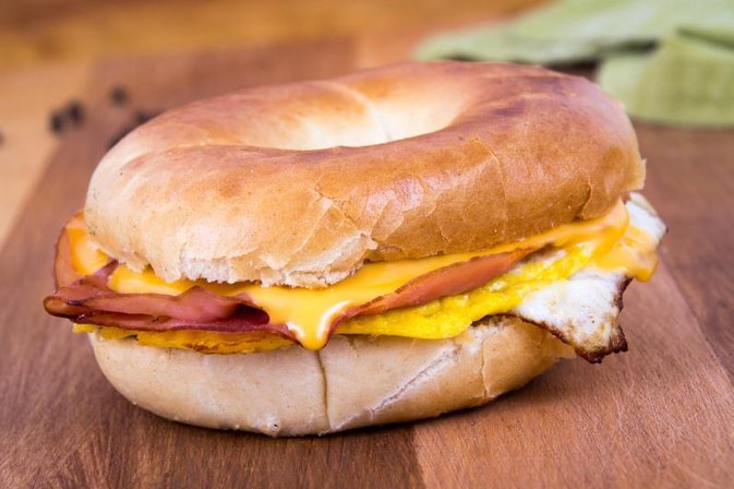 How Many Calories Are in a McDonald's Steak, Egg and Cheese Bagel?