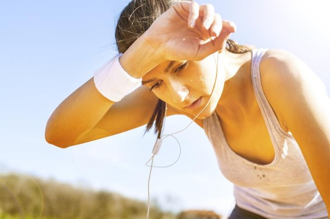 Lack of Sweating During Exercise