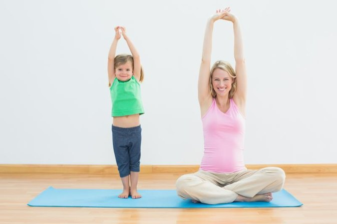 Mommy & Child Exercise DVDs