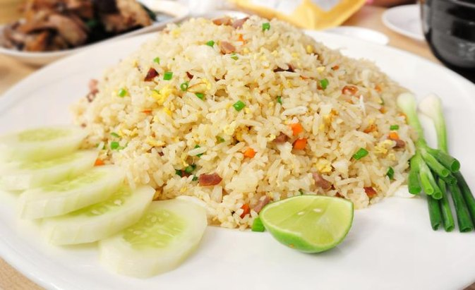 Pork Fried Rice Nutrition