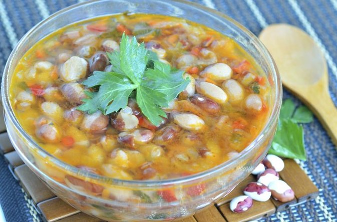 The Nutrition of 15-Bean Soup