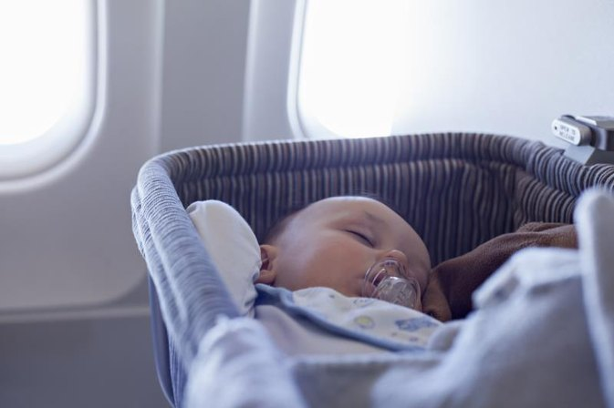 The Best Ways to Get Babies to Sleep on Long Plane Trips