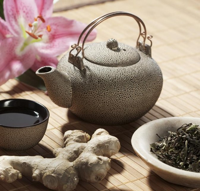 Is Drinking Ginseng & Green Tea Good for the Body?