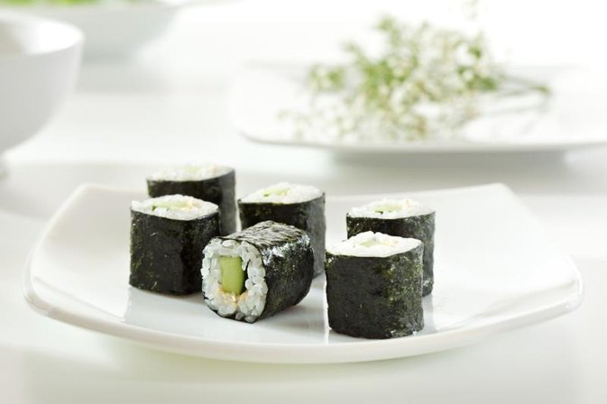 Calories in Vegetable Sushi