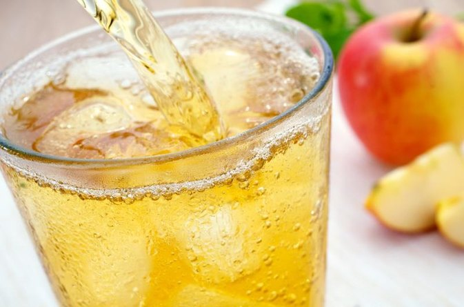 Benefits of Apple Juice & Sparkling Water