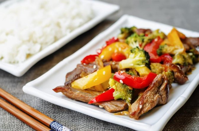 A Marinade for Beef Stir Fry