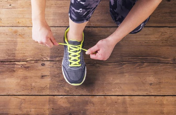 How to Tie Your Running Shoes