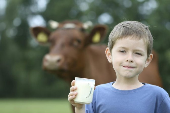 Can Milk Affect Behavior in Boys?