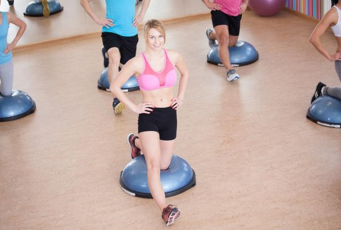 AB Exercises for a Bosu Ball