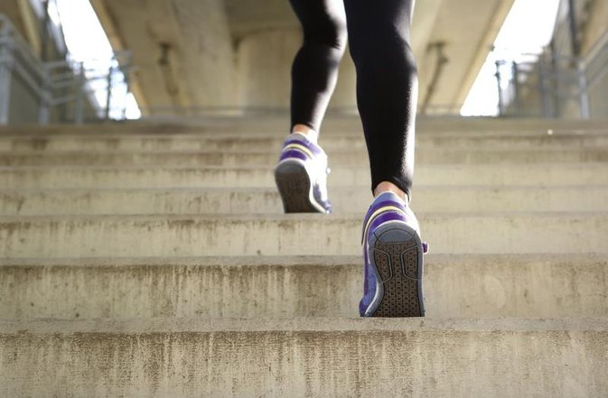 Does Running Up & Down Stairs Help Lose Belly Fat?