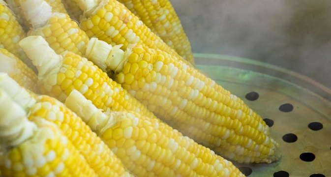 Steam or Boil Corn?