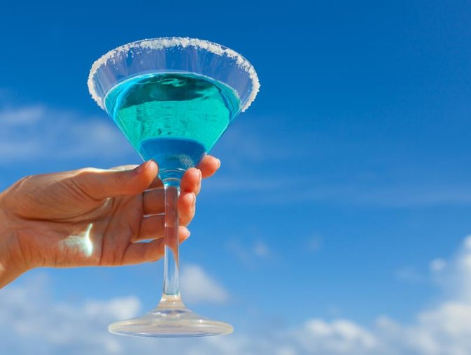 Calories in UV Blue Vodka