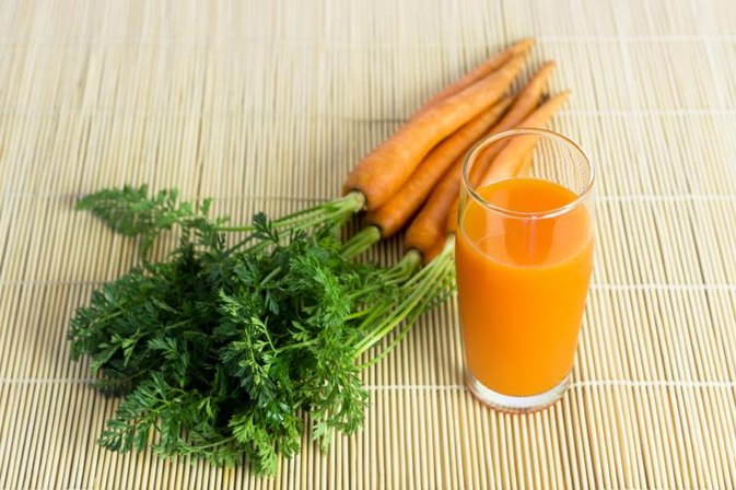 Fresh Carrot Juice to Lower Blood Pressure