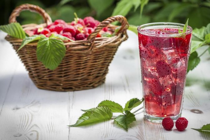 Benefits of Raspberry Juice