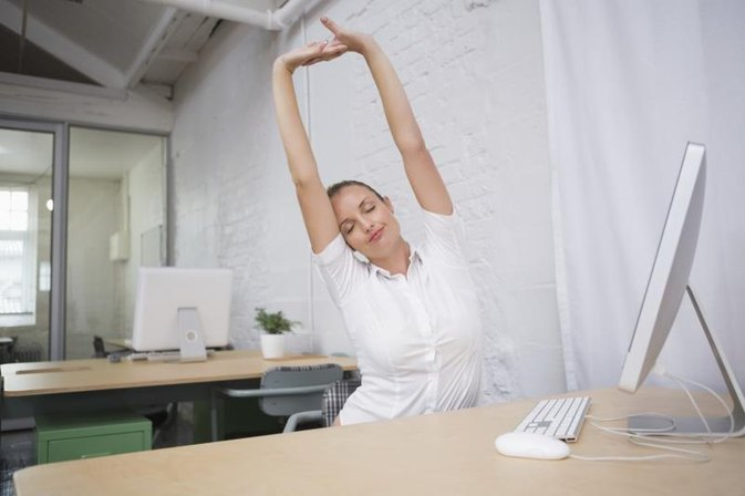 Leg and Butt Exercises While Working at a Desk