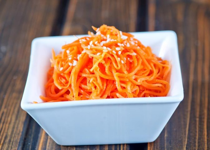 How to Prepare Shredded Carrots for Freezing